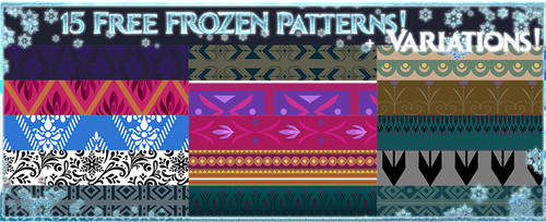 Disney Frozen Patterns