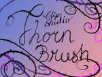 Clip Studio Thorn Vine Brush