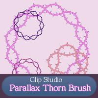 Clip Studio Parallax Thorn brush