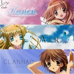 Air, Clannad AS and Kanon (Key 15th Anniversary) by gamera68