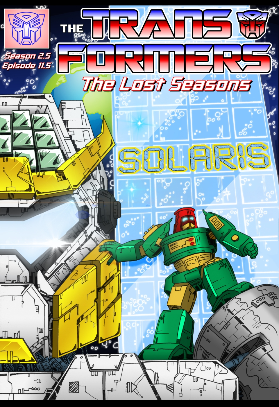 Solaris - Complete Comic by JoeTeanby