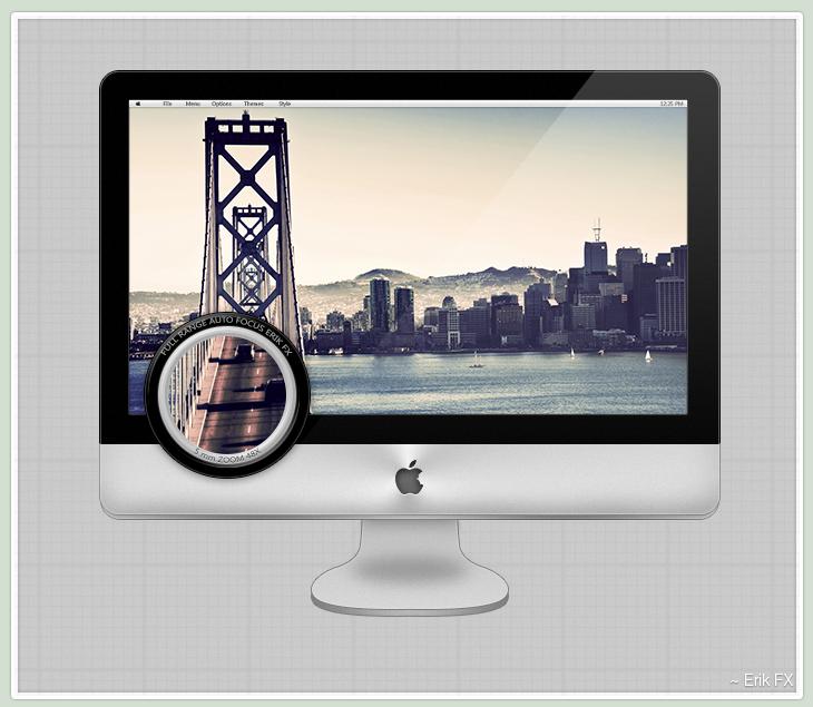 iMac Template [iSteve] by ErikFX