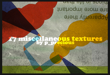 17 large misc textures by yawee
