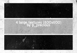 4 large textures