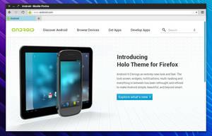 Holo Theme for Firefox