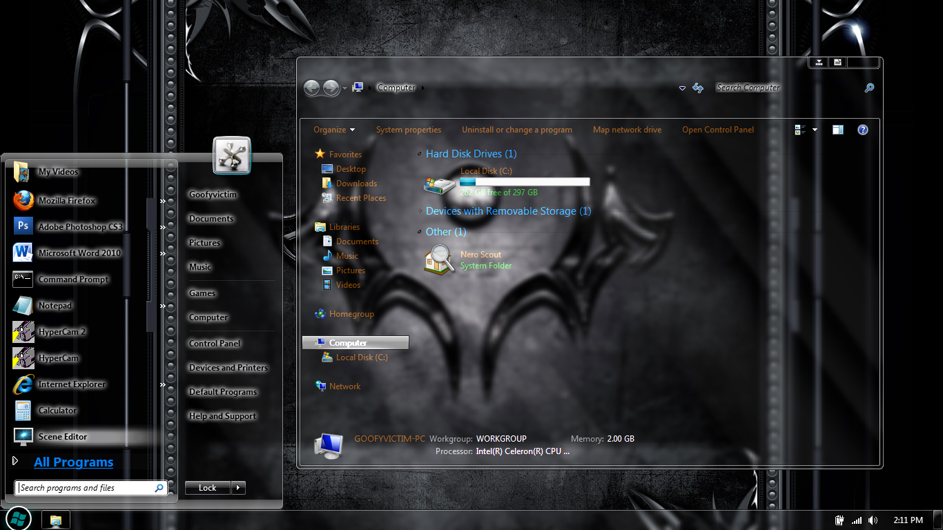 windows 7 ultimate full glass theme download