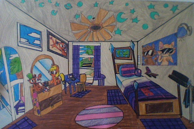 Dream Bedroom By Mushroom Cookie Bear On DeviantArt