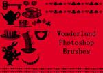 Wonderland Photoshop Brushes