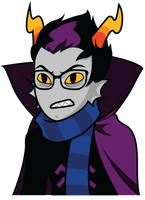 Smooth Eridan Talksprite by DarwinTFish