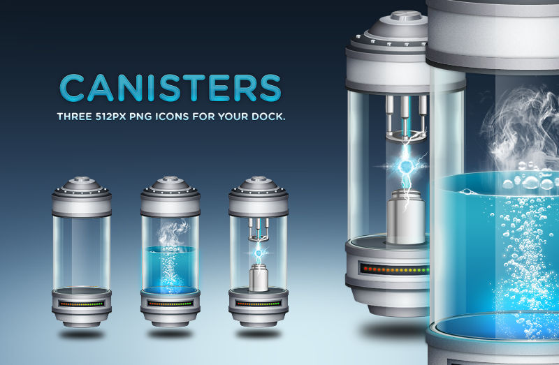 Canister Dock Icons
