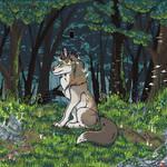 Chibi-Animation:Forest Wolf by WolfySkull-CVI