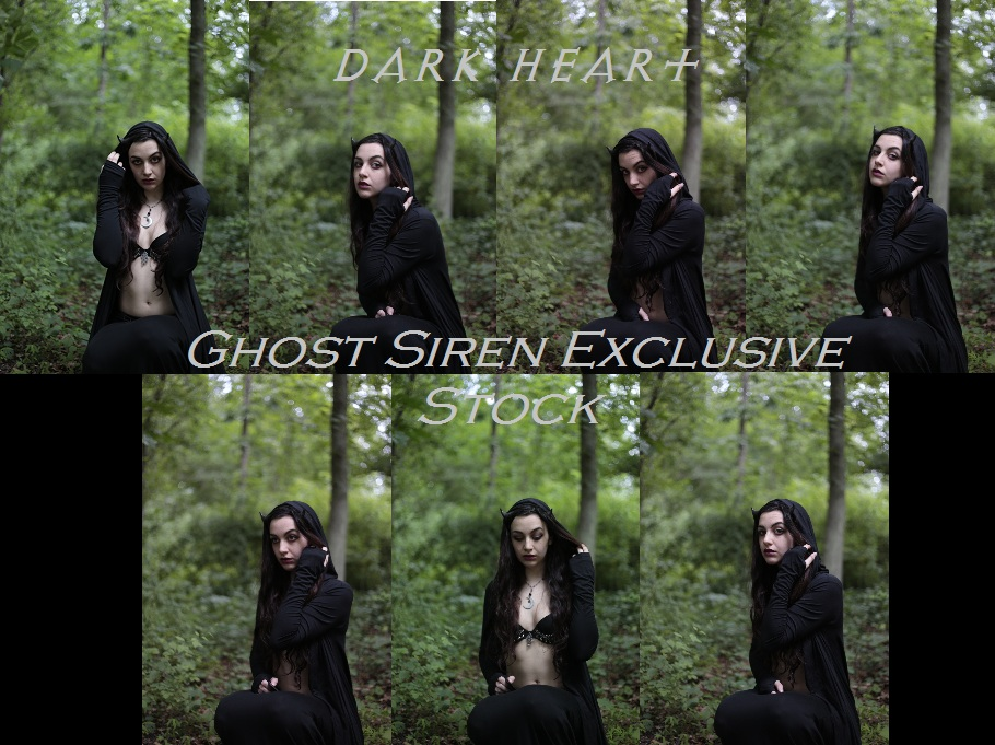 Dark Heart Stock by TheGhostSiren by TheGhostSiren