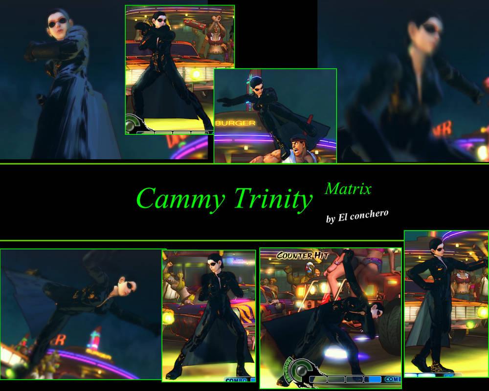 Cammy Trinity Matrix MOD by elconchero on DeviantArt