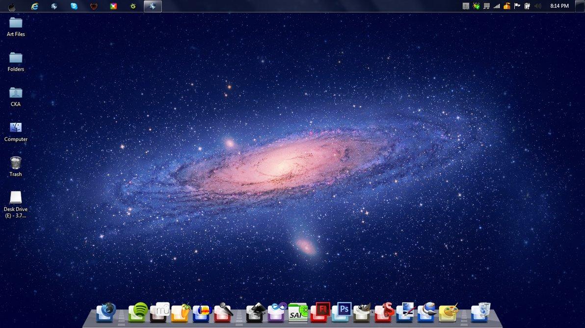 Mac OS X Lion Comos Theme for Windows 7 by martylavoir on DeviantArt