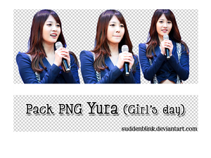 Pack PNG Yura (Girl's Day)