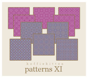 patterns XI by koffiekitten