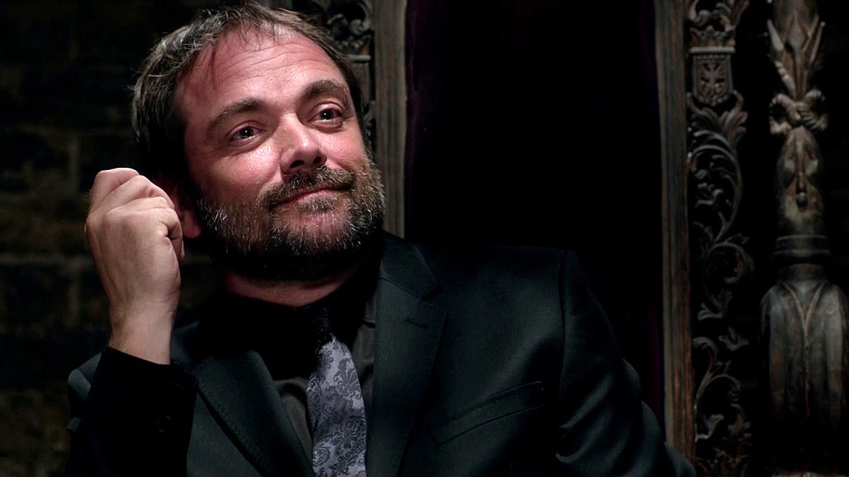 Crowley x Daughter! Reader Raising Hell by Jedi-TARDIS