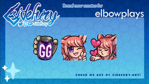 elbowplays emotes!