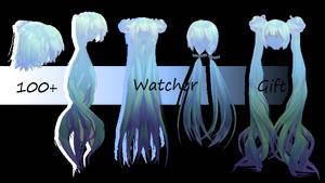 100+ Watcher Gift : Hair Pack