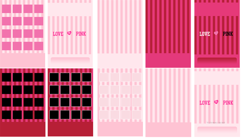 Victorias Secret Pink IPod IPhone Wallpaper Pack By Sleepy Stardust