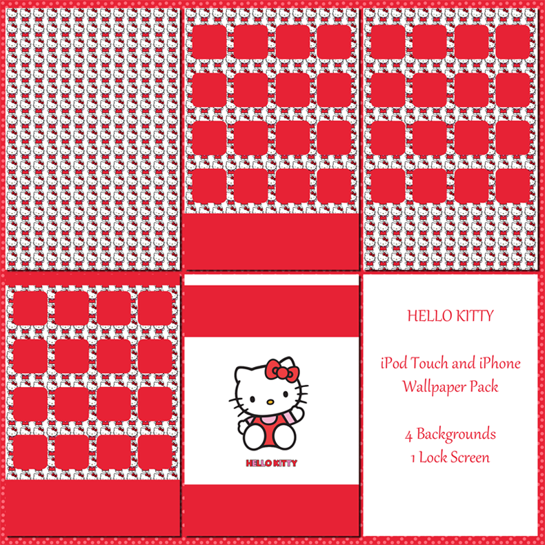 Hello Kitty Wallpaper Pack For Ipod And Iphone By Sleepy Stardust On