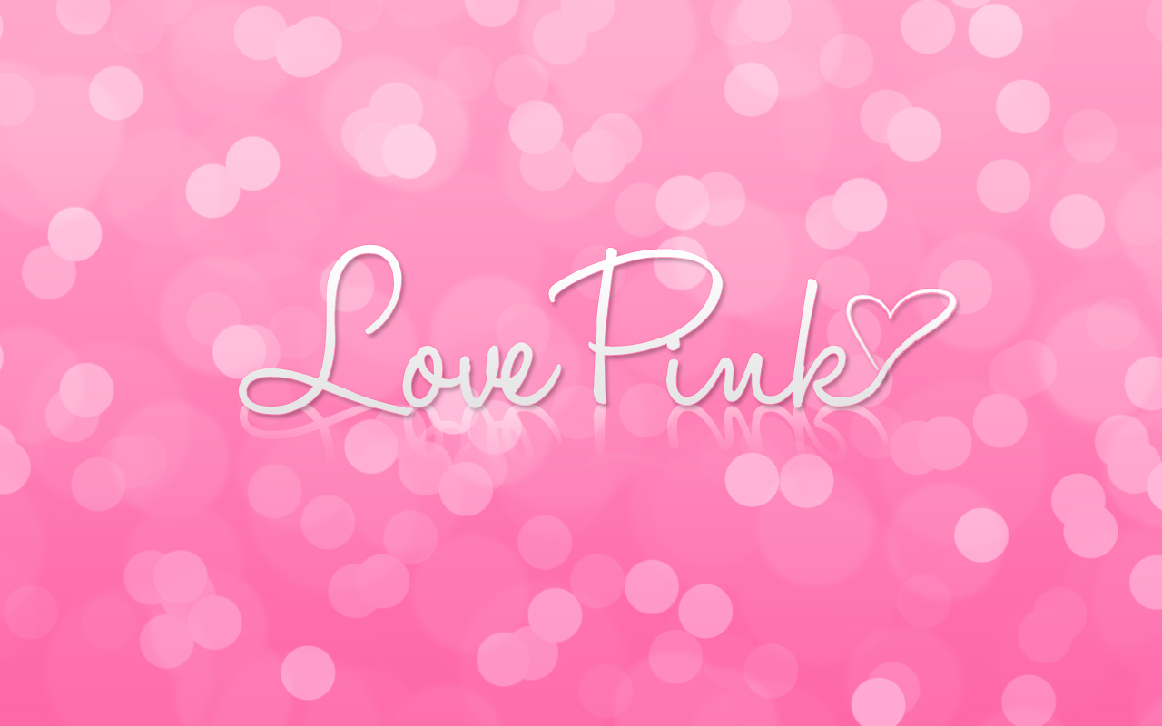 love pink wallpaper - photo #2