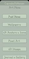Gallery Folder Icons Menu Template PSD