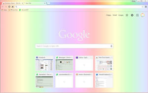 Royal Rainbow - Google Chrome Theme by Sleepy-Stardust