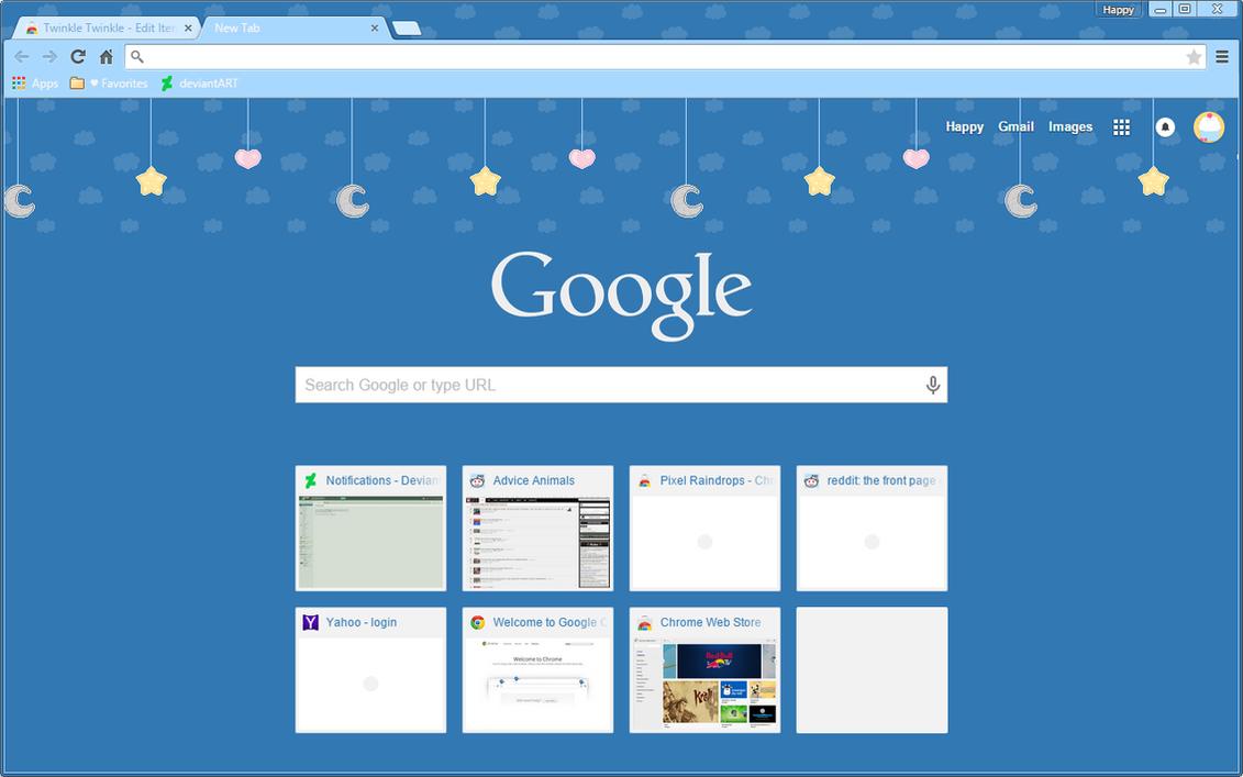 Theme Google Chrome By Emyzul Deviantart – Fondos de Pantalla