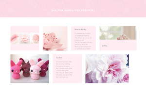 Soft Pink Gallery CSS by Sleepy-Stardust