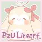 P2U Bunny Lineart by Sarilain