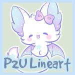 P2U Bat Line Art