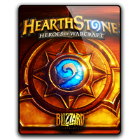 Hearthstone Game Icon (PNG, ICO, PSD) by mgbeach