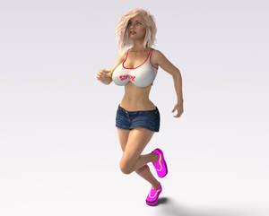 Charlene Running Forever