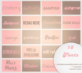 18 Fonts