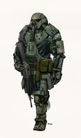 Sarcophagus Power Armor