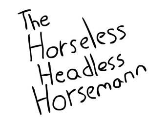 Horseless Headless Horsemann in shellnut