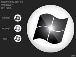 Windows 7 White Orb by 2befine