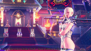 Falke - Shadaloo Battle Outfit - C3 Slot Swap