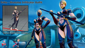 Falke - Shadaloo Infiltrator Outfit