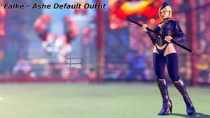 [MOD] Falke - Ashe Default Outfit