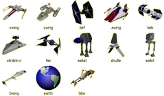 Star Wars Icons by supergordito