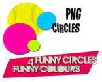 4 FUNNY PNG CIRCLES