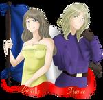 Happy Birthday France and Bastille! by ArtOfASlytherin