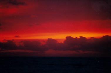 Red Sky at Night by robert-kim-karen
