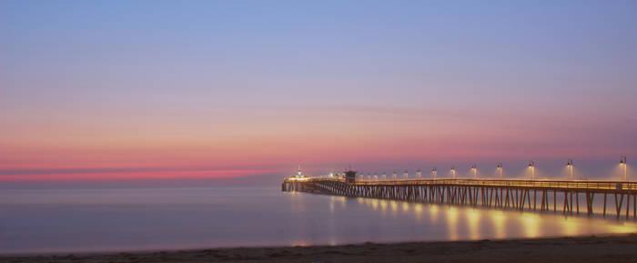 Imperial Beach Pier at Twilight