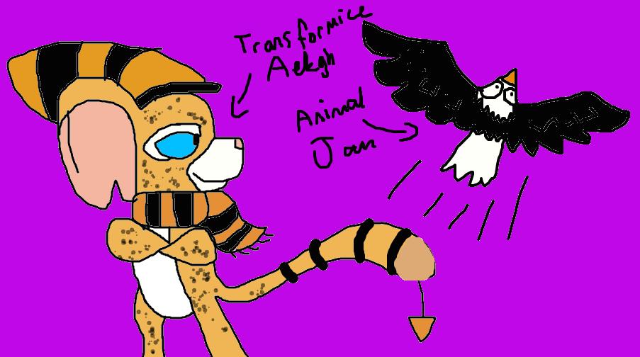 Transformice / Animal Jam VS by Aekgh