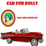 MMD car for dolls