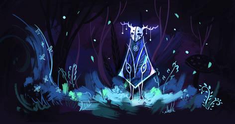Zaach- Forest Spirit of Winter
