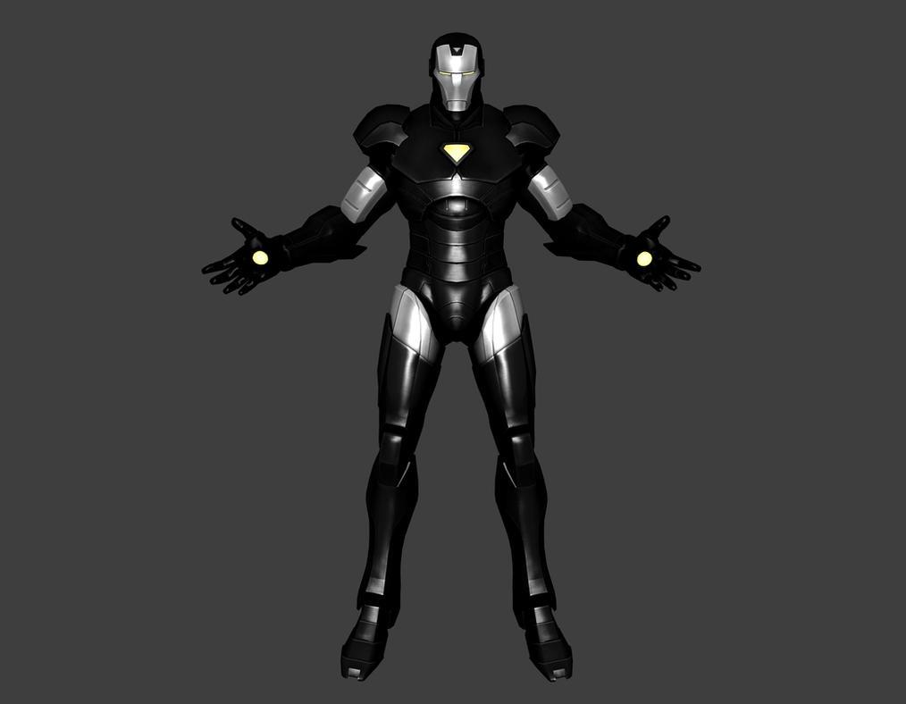 MVC - Iron Man [Silver Black] by IshikaHiruma